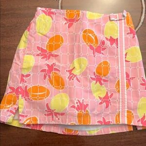 Kids Lilly Pulitzer skirt size 5.